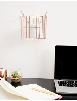 Candlelight Copper Hanging Storage by Asos Brand