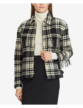 Fringe Zip Jacket by Polo Ralph Lauren