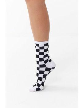 Vans Checkerboard Ticker Crew Sock by Vans