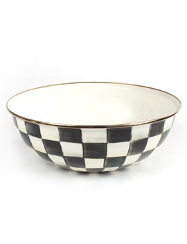 Extra Large Courtly Check Everyday Bowl by Mac Kenzie Childs