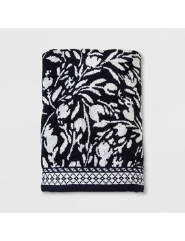 Navy Floral Towels   Threshold™ by Threshold