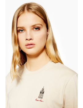 London Illustration T Shirt by Topshop