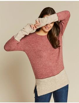 Imogen Colour Block Jumper by Fat Face