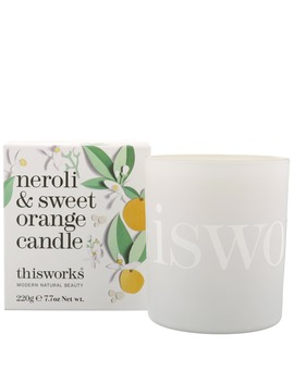 Neroli & Sweet Orange Candle 220g by Thisworks