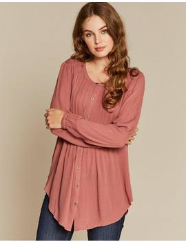 Evie Longline Shirt by Fat Face