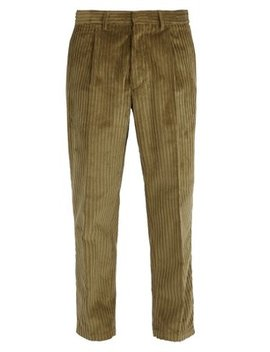 Cotton Corduroy Trousers by The Gigi