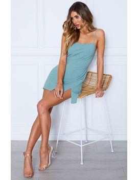What You Want Mini Dress Sage by White Fox