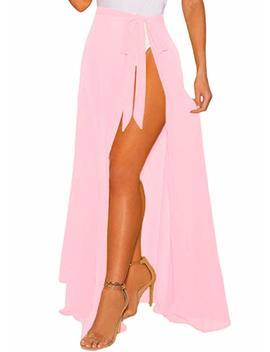 Omic Got Women's Cover Up Swimsuit Beach Wrap Maxi Skirt by Omic Got