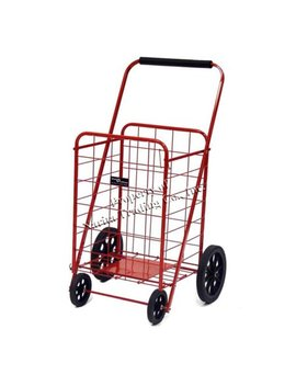 Easy Wheels Super Shopping Cart, Red, 1ct by Easy Wheel
