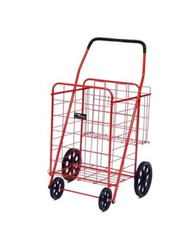 Easy Wheels Jumbo Shopping Cart Plus   Multiple Colors by Easy Wheel
