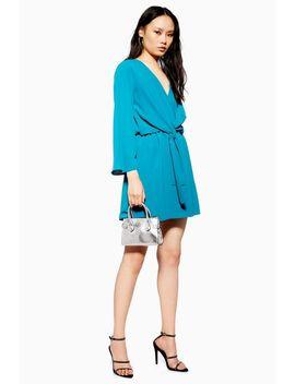 Knot Mini Skater Dress by Topshop