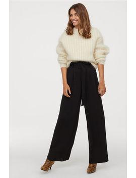 Pantalon Paper Bag Ample by H&M