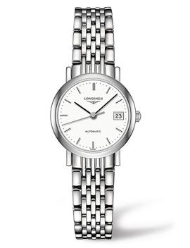Elegant Automatic Bracelet Watch, 25.5mm by Longines