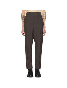 Pantalon Gris Long Astaires by Rick Owens