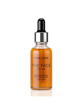 Tan Luxe The Face Anti Age Rejuvenating Self Tan Drops Light/Medium 30ml by Tan Luxe