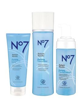 No7 Radiant Results Purifying Cleansing Trio by No7