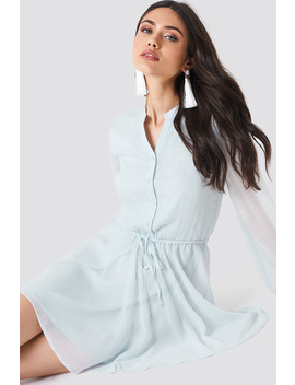 Wide Sleeve Chiffon Dress by Schanna X Na Kd