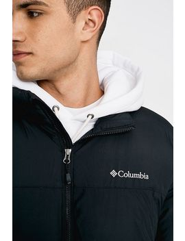 Columbia Uo Exclusive Pike Lake Black And White Puffer Jacket by Columbia