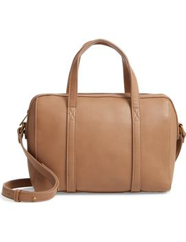 Faux Leather Satchel by Malibu Skye