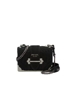 Prada Diagramme Leather Bag by Prada