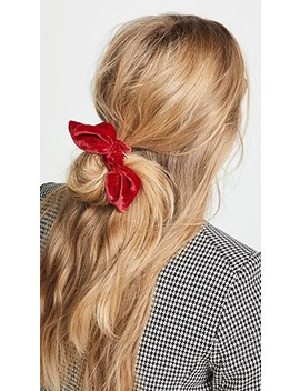 Margery Velvet Scrunchie by Dannijo