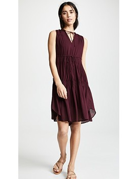 Short Pleated Sundress by James Perse