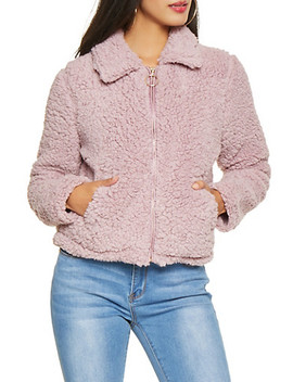 Sherpa Zip Up Jacket by Rainbow