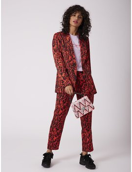 Pink Chevron Terina Tote Bag by Skinnydip