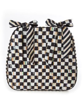 Courtly Check Chair Cushion by Mac Kenzie Childs