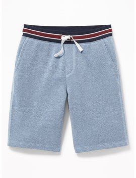 Rib Knit Waist Jogger Shorts For Boys by Old Navy
