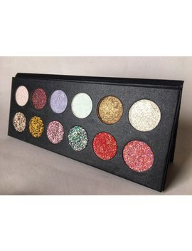 Pressed Glitter Eyeshadow And Highlighter Palette by Etsy