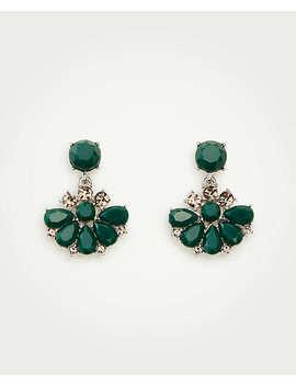 Stone Drop Earrings by Ann Taylor