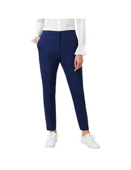 Hobbs Tailored Odella Trousers, French Navy by Hobbs