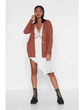 Cardi Harder Button Cardigan by Nasty Gal