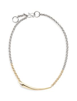 Alki Vermeil Necklace by Charlotte Chesnais