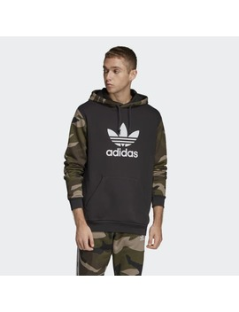 Camouflage Hoodie by Adidas