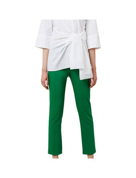 Hobbs Annie Trousers, Tropical Green by Hobbs