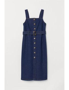 Calf Length Denim Dress by H&M