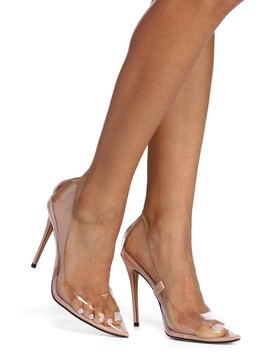 Stay Classy Lucite Pumps by Windsor