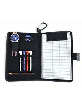 Pga Tour Golf Leather Organiser   Black by Pga Tour