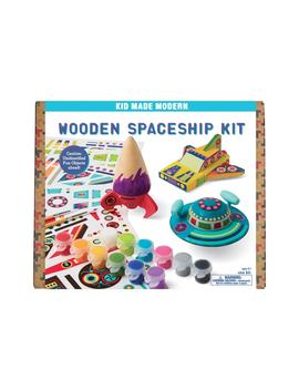 Wooden Spaceship Kit by Kid Made Modern