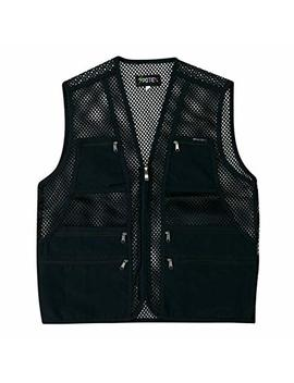 Myglory77mall Men's Multi Pockets Fly Fishing Hunting Mesh Vest Outdoor Jacket by Myglory77mall