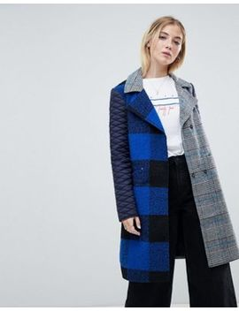 Noisy May Mix Print Coat by Noisy May