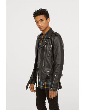 Leather Boot Jacket by H&M
