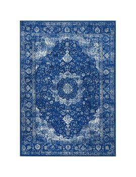 Laurel Foundry Modern Farmhouse Ayer Dark Blue Area Rug & Reviews by Laurel Foundry Modern Farmhouse