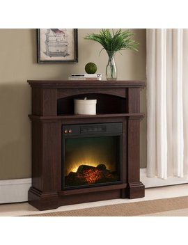 "Prokonian Electric Fireplace With 31"" Mantel Spd15021, Mahogany by Prokonian"