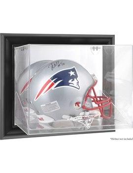 New England Patriots Fanatics Authentic Black Framed Wall Mountable Helmet Display Case by Fanatics Authentic
