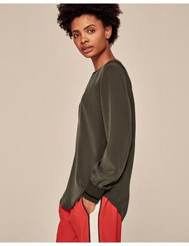 Silk Sweatshirt by Me+Em