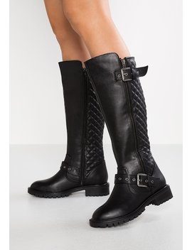 Wide Fit   Cowboy/Biker Boots by Simply Be