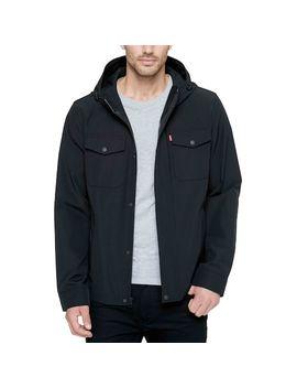 Men's Levi's® Arctic Cloth Hooded Rain Jacket by Levi's